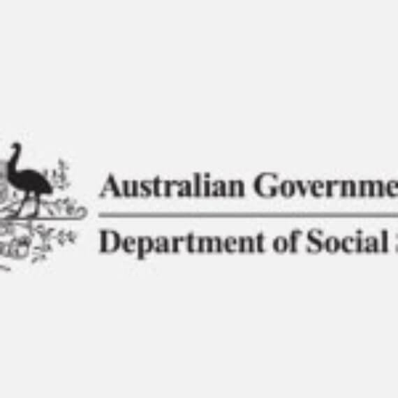 Logo for Department of Social Services, an organisational partner of HelpingMinds