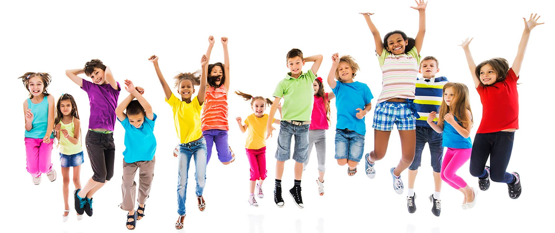 Group of happy kids jumping for The Skillz Workshop by HelpingMinds<sup>®</sup> header
