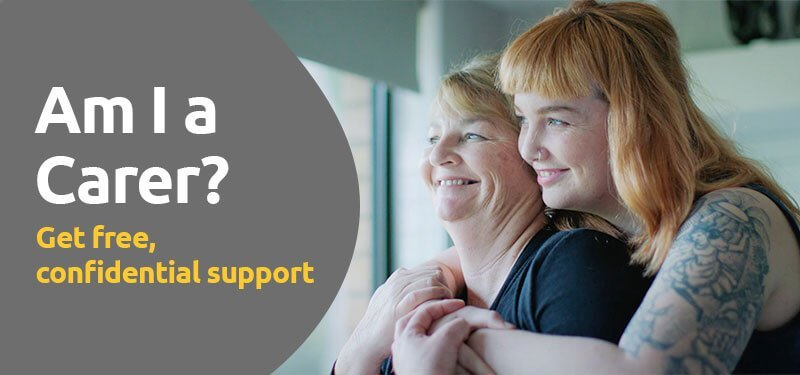 mental health support for carers of friends and family banner by HelpingMinds